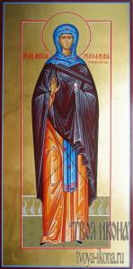 Анастасия Римляныня Солунская мерная икона
