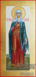 Дария Римская, святая мученица мерная икона