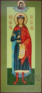 Глеб (в крещении Давид) , страстотерпец, князь мерная икона