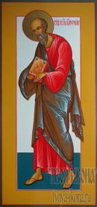 Иоанн Богослов, евангелист мерная икона