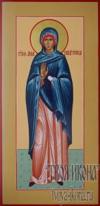 Анна праведная, мать Пресвятой Богородицы мерная икона
