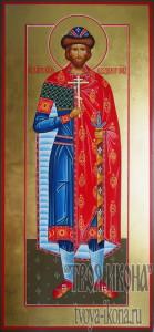 Владимир Ярославич Новгородский, князь мерная икона