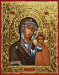 Казанская Икона Пресвятой Божией Матери