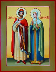 Святые благоверные князь Петр и княгиня Феврония, Муромские чудотворцы