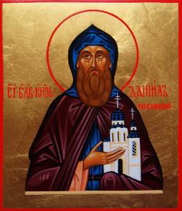 Икона Святого благоверного князя Даниила Московского
