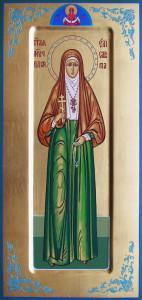 Икона Святой преподобномученицы великой княгини Елисаветы Алапаевской