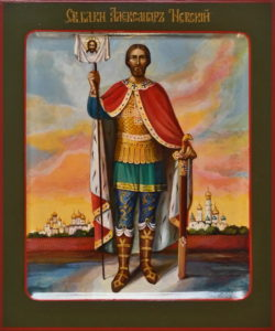 Александр Невский, святой великий князь.