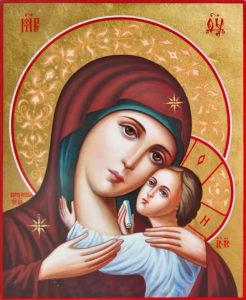 Корсунская Икона Божией Матери Богородица