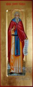 Дионисий Глушицкий, игумен мерная икона