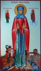 Агафия Никомидийская, преподобномученица, игумения